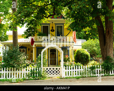 Canada Ontario Grimsby Grimsby Park Ford Cottage built 1887 Victorian home one of the original Chautauqua assembly - Stock Photo