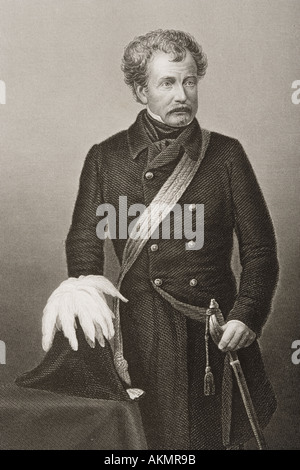 Field Marshal Sir Colin Campbell 1st Baron Clyde, GCB 1792 to 1863  Scottish soldier - Stock Photo