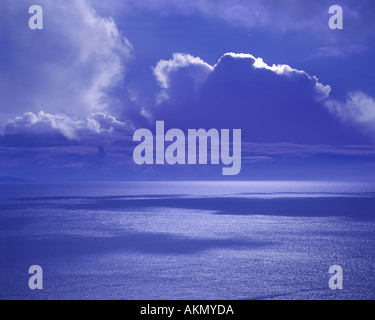 IE - CO.MAYO: Dramatic Atlantic Sky - Stock Photo