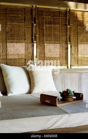 Vietnam, Nha Trang, Evason Hideaway and Spa at Ana Mandara, room - Stock Photo