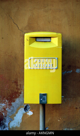 A mailbox of the Vatican Post - Stock Photo