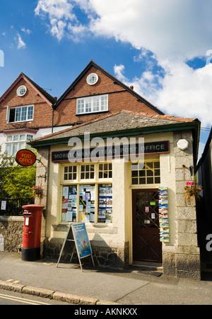 Small rural post office Moretonhampstead, Devon, England, UK - Stock Photo