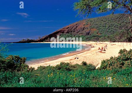 Big Beach Makena Maui - Stock Photo