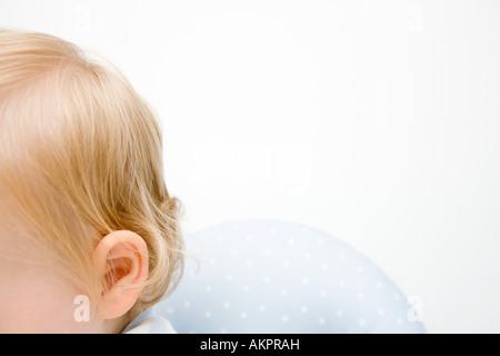 A babys head - Stock Photo