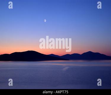 GB - WESTERN ISLES: Sound of Taransay seen from Isle of Harris - Stock Photo