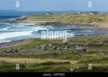 Fanore Beach, Co. Clare, Ireland - Stock Photo