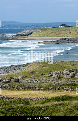 Fanore Beach, Co. Clare, Ireland - Stock Photo