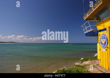 Noosa coastguard, Noosa beach Australia - Stock Photo