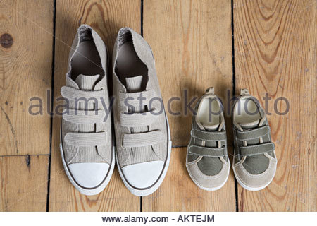 Training shoes - Stock Photo