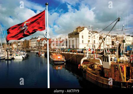 Douglas Isle of Man UK - Stock Photo