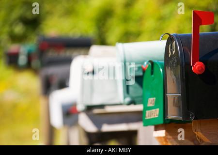Mailboxes - Stock Photo