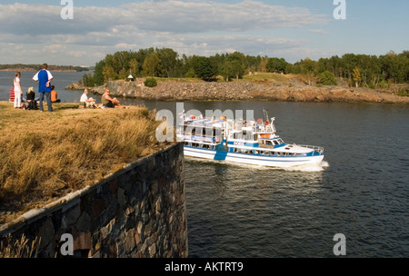 Helsinki Suomenlinna in Summer - Stock Photo