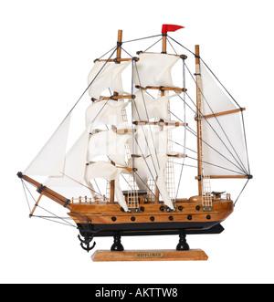 Mayflower Ship Model - Stock Photo