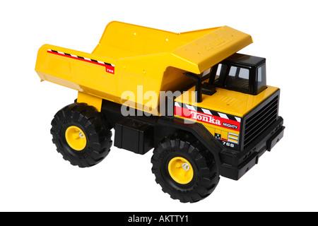 toy dump truck stock photo - Toy Dump Trucks