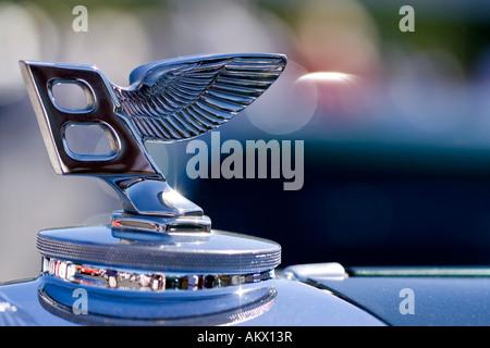 Bentley hood ornament - Stock Photo