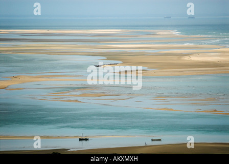 Coast at Inhaca Island, Mozambique, Africa - Stock Photo