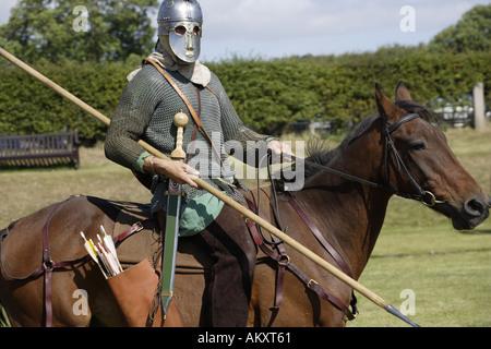 Roman cavalry - Stock Photo