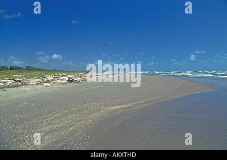 Nicaragua Miskito Coast Sandy Bay beach seascape - Stock Photo