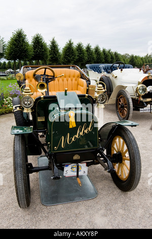 Vintage car meeting, Schwetzingen, Baden-Wuerttemberg, Germany - Stock Photo