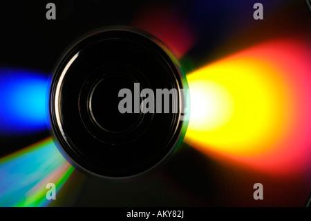 Blu-ray Disc 25 GB / CD / CDs - Stock Photo