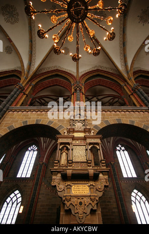 St. Peter's Cathedral, Bremen, Germany, Europe - Stock Photo