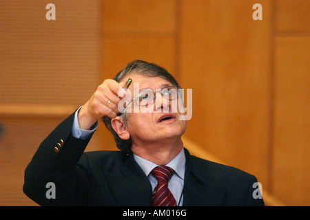 Nobel prize laureate Prof. Dr. Klaus-Olaf von Klitzing - Stock Photo