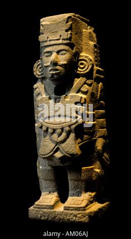 National Anthropological Museum Mexico City  Toltec Warriours Tula Hildago - Stock Photo