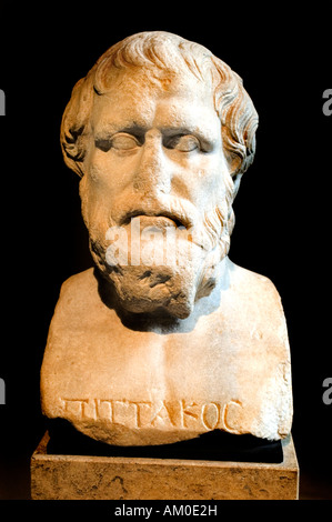 Pittacus philosophy philosopher Greek greece - Stock Photo