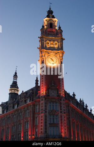 Chamber of Commerce Lille France - Stock Photo