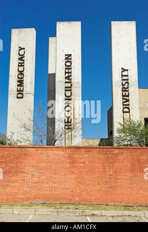 Apartheid Museum, Ormonde, Johannesburg, South Africa, Africa Stock Photo