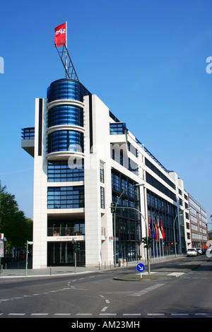 Willy-Brandt-Haus, headquarters of the Social Democratic Party, Berlin, Germany - Stock Photo