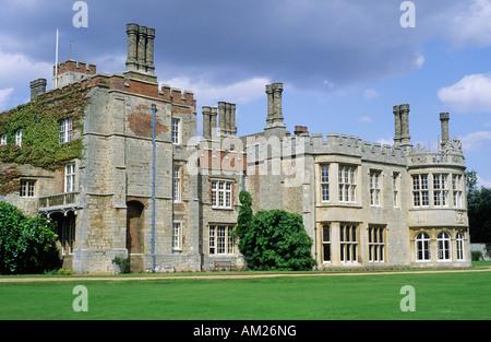 Hinchingbrooke House Cambridgeshire Oliver Cromwell s family seat - Stock Photo