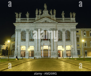 geography / travel, Italy, Rome, churches, Basilica of St. John Lateran, built: 313 - 314 AD, conversion: 16th  - Stock Photo