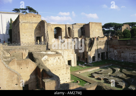 geography/travel, Italy, Rome, Palatine Hill, Domus Augustana (casa di Augusto), built: 1st century, Additional - Stock Photo