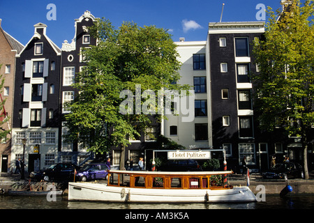 Holland Amsterdam Prinsengracht Hotel Pulitzer - Stock Photo