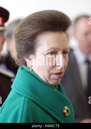 Her Royal Highness Princess Anne the Princess Royal - Stock Photo
