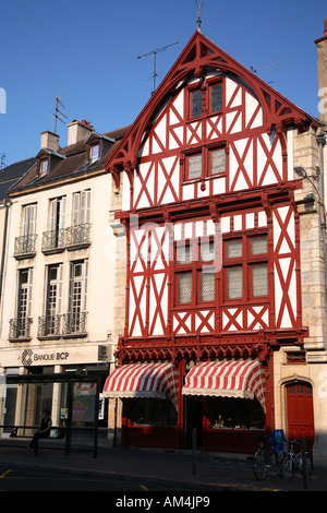 Travel photography from Europe France Burgundy Bourgogne Côte de Beaune between Beaune and Dijon - Stock Photo