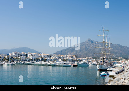 Puerto Banus Costa del Sol Andalucia Spain - Stock Photo