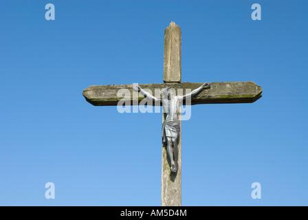 Christ on the cross - Stock Photo