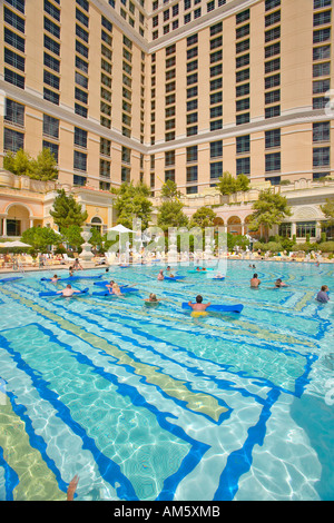 Swimming Pool At The Bellagio Hotel Las Vegas Stock Photo Royalty Free Image 25249074 Alamy