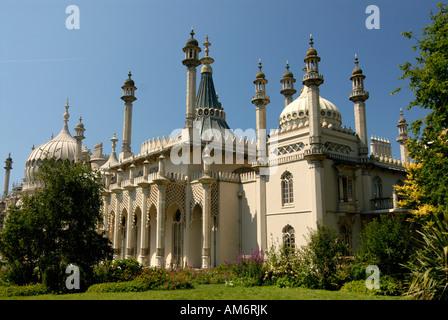 Brighton, the Royal Pavilion. Regent's Palace - Stock Photo