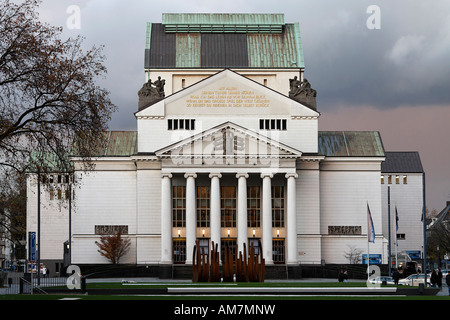 German Opera at the Rhine, Duisburg, NRW, Germany - Stock Photo