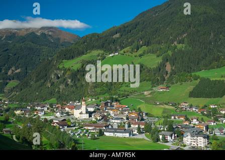 Neustift in Stubai Valley, Tyrol, Austria - Stock Photo