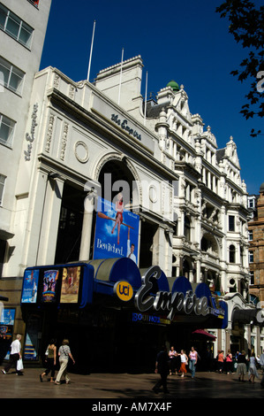 The Empire cinema in Leicester Square London England UK - Stock Photo