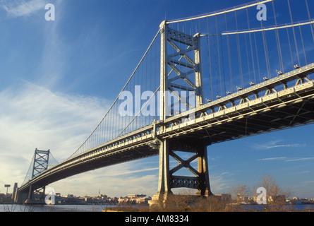 AJ19829, bridge, Philadelphia, PA, Pennsylvania - Stock Photo