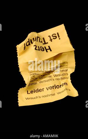 A raffle ticket - Stock Photo