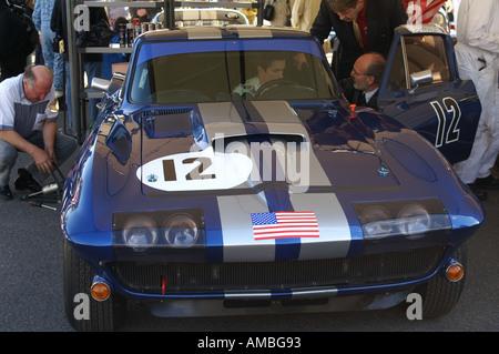 1965 Chevrolet Corvette Sting Ray - Stock Photo