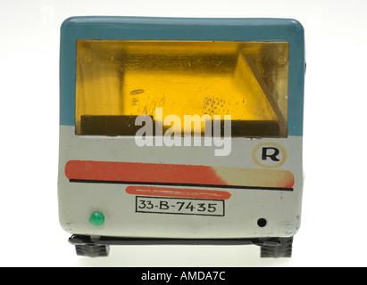 autobus, toy, eastern enlargement - Stock Photo