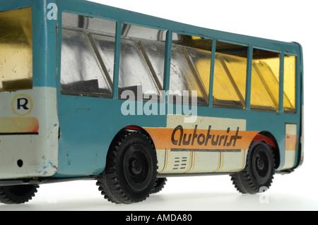 autobus, toy, Romania - Stock Photo