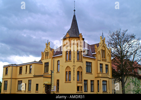 Wismar Pension - Stock Photo